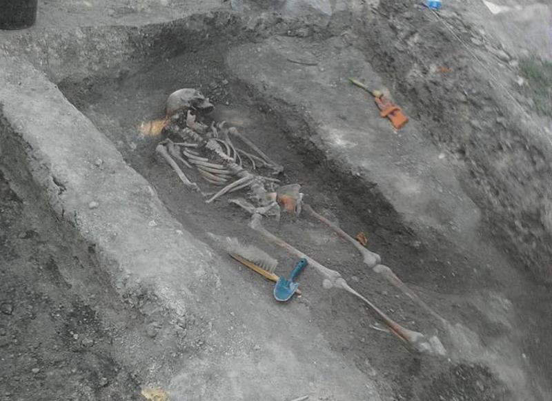 Антропологічні дослідження черепів, знайдених тут минулого року, свідчать про присутність в них елементів прибалтійського типу людей