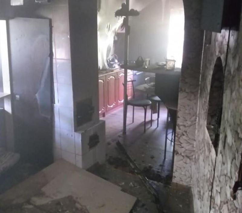 Вогонь пошкодив оздоблення кімнати, меблі, домашнє майно
