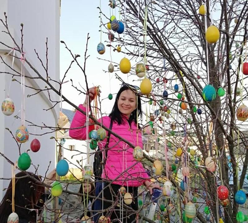 На Великодні свята Дерево миру стане святковою фото зоною
