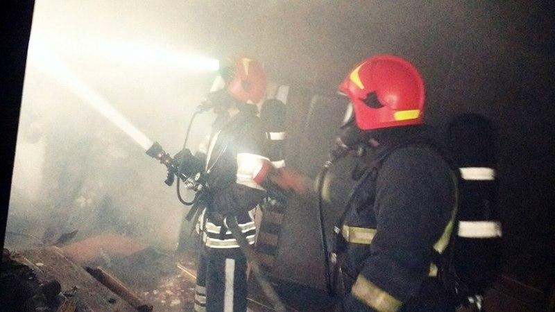 На пожежі виявили тіло чоловіка