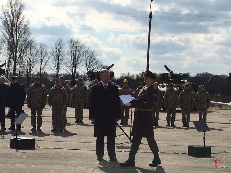 ЗСУ сьогодні отримали нові зразки військової техніки та озброєння