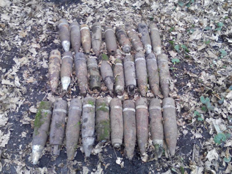З початку року на Хмельниччині знешкодили більше 350 небезпечних вибухових предмети