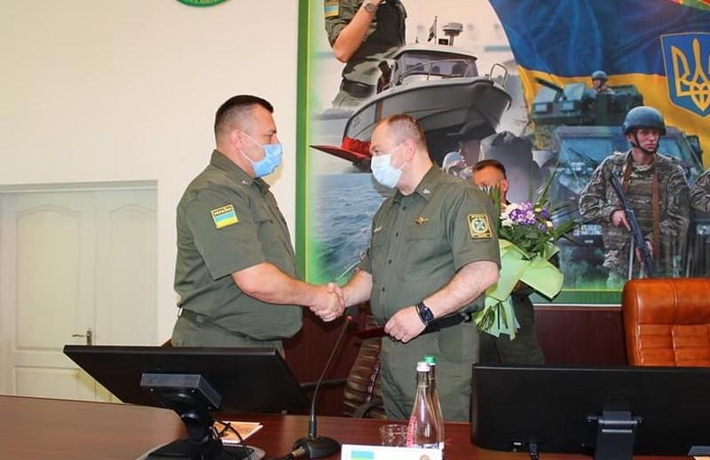 Новим ректором НАДПСУ став Олександр Луцький (на фото зліва)