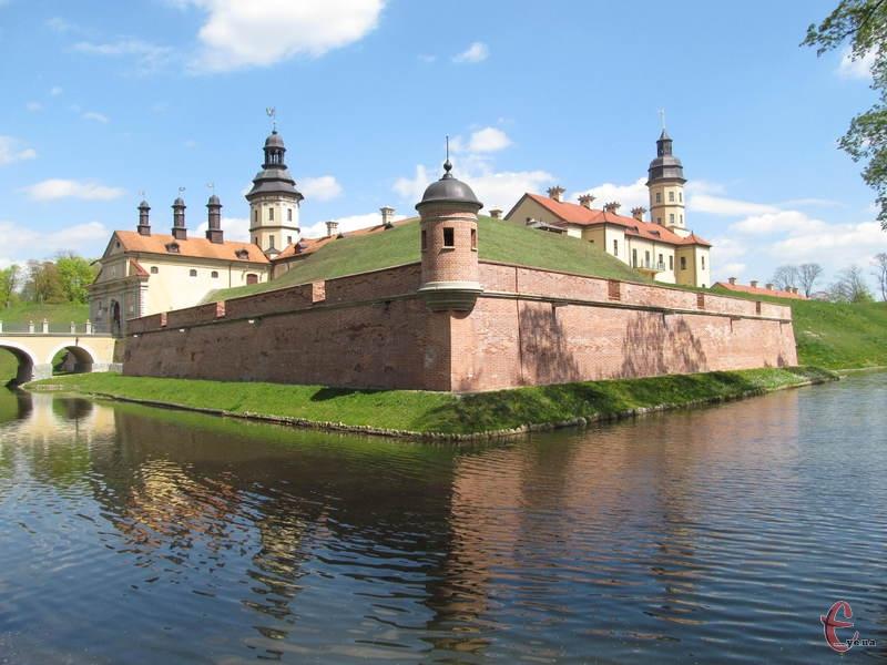 Нясвіжський замок - один із найгарніших у Білорусі