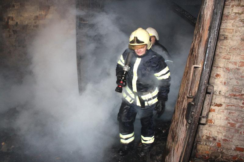 Збитки від пожежі наразі встановлюються