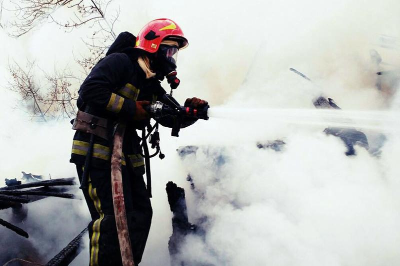З початку року на Хмельниччини зафіксували 1250 пожеж