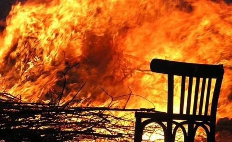 Пожежі стался у двох райнах області