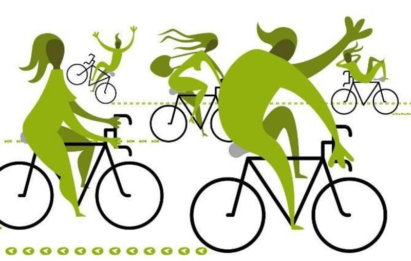 Дрес-код велопараду - зелений колір
