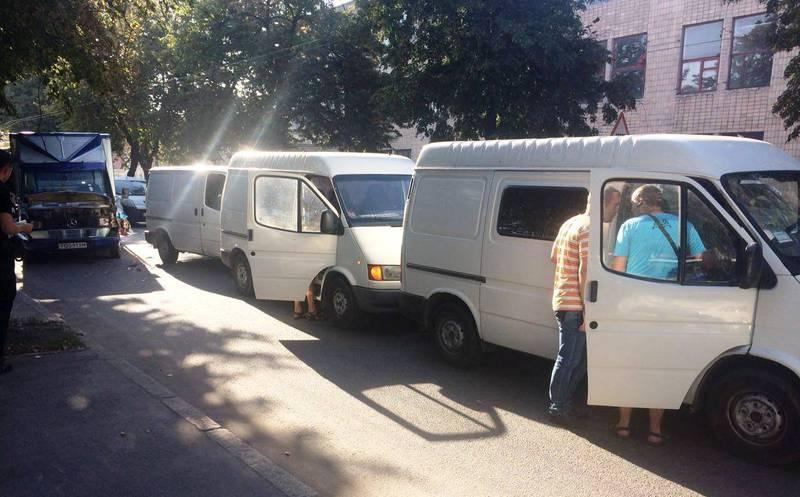 Аварія сталася по вулиці Чорновола