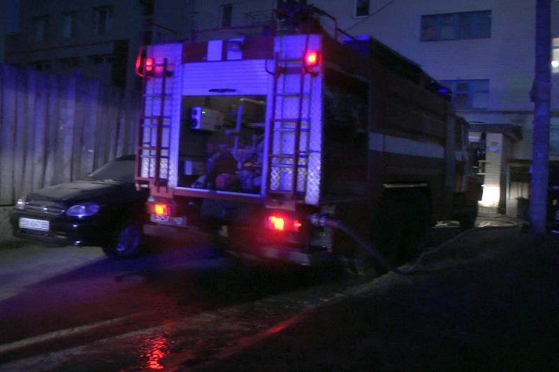 Пожежа сталася у будинку на вулиці Курчатова