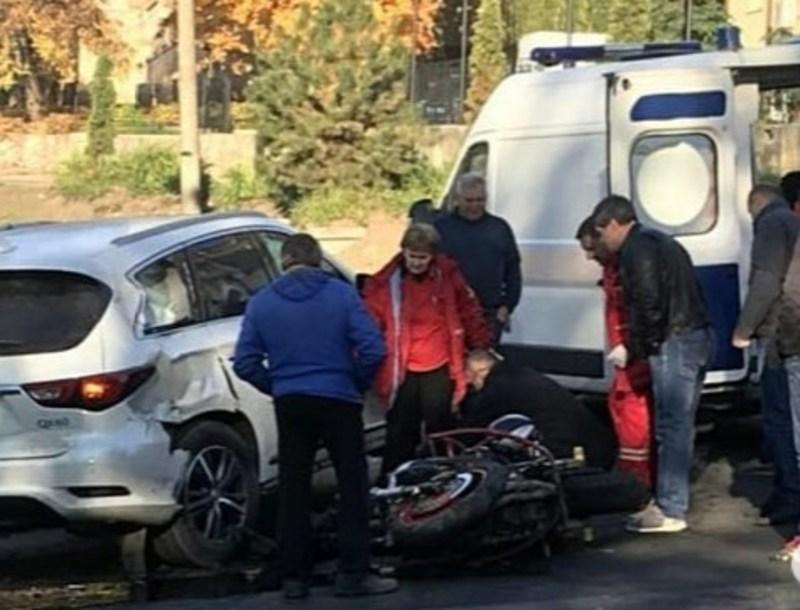 У ДТП травмувався мотоцикліст
