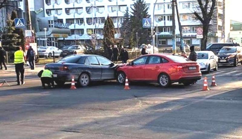 Аварія сталася на вулиці Шевченка