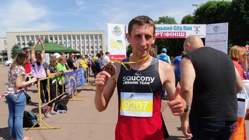 Переможцем на дистанції 9 кілометрів став Вадим Рогозовський