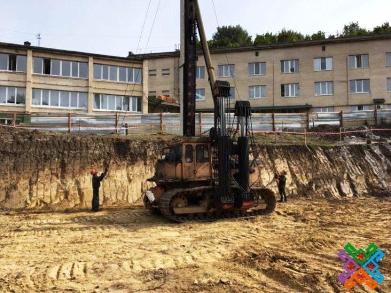 Будівництво корпусу обласної дитячої лікарні здійснює ТОВ «Будівельний Альянс Груп»