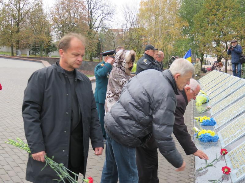 Хмельничани вшанували пам'ять визволителів України від фашистських загарбників