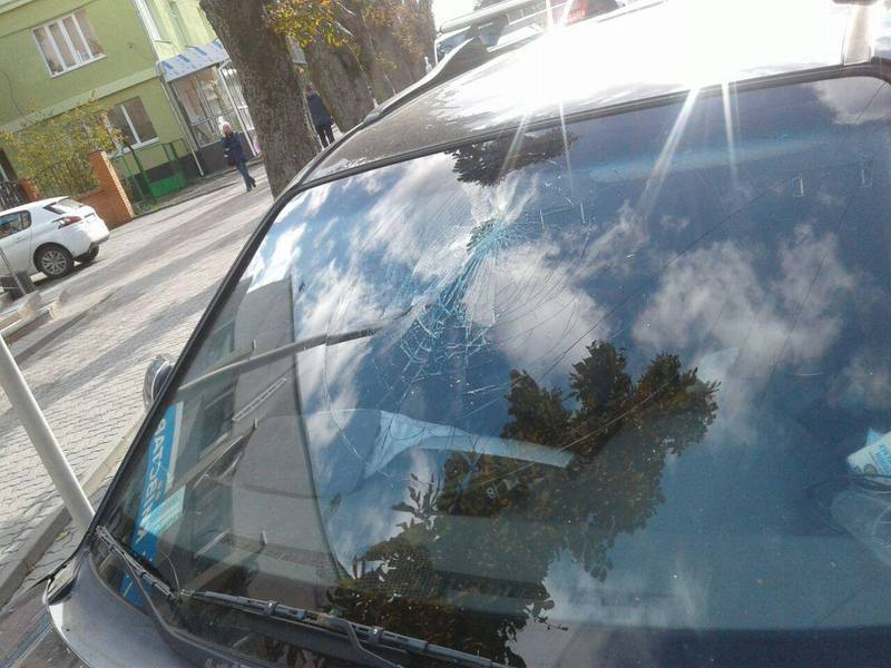 ДТП сталося по вулиці Грушевського