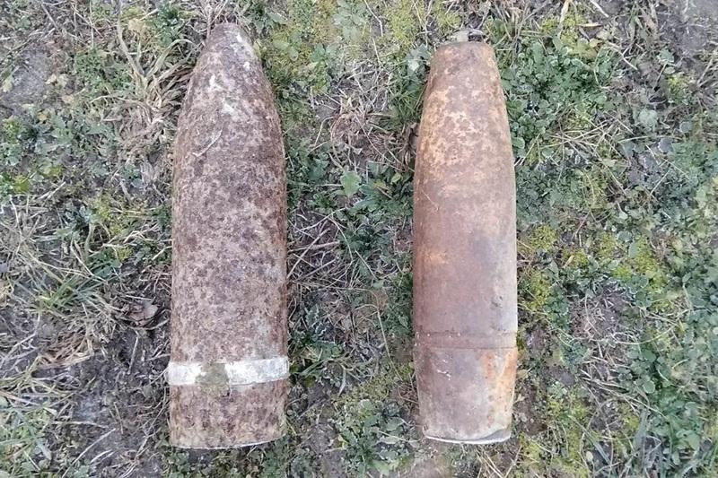 Снаряди, які знайшли, були знищені піротехніками