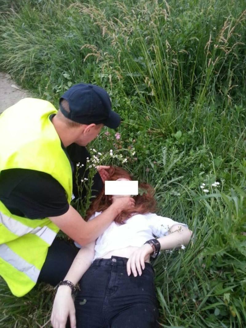 Неповнолітня втратила свідомість від випитого алкоголю