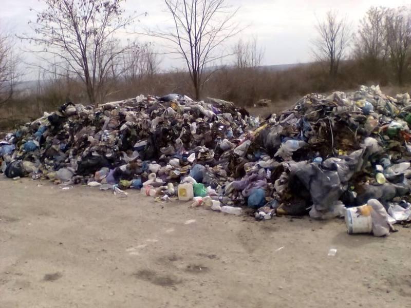 Поліція шукає тих, хто вивіз сміття