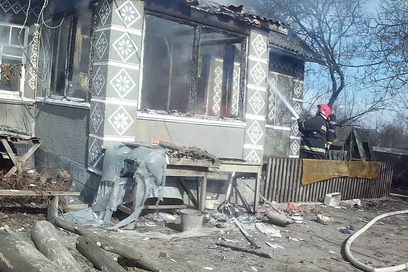 На місці пожежі було виявлено тіло власника помешкання - 62-річного чоловіка