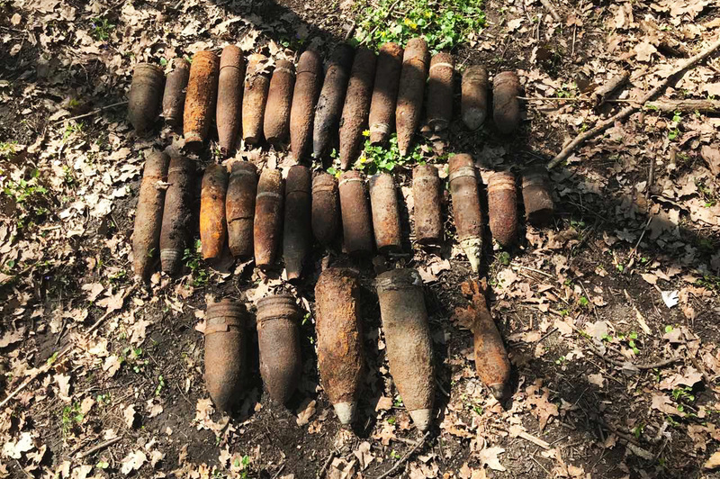 З початку року на Хмельниччині знешкодили вже понад 670 снарядів