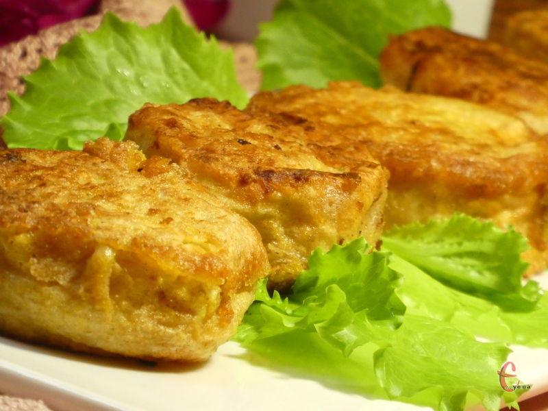 Дуже смачна й ситна страва, якою можна як потішити рідних під час сімейного обіду, так і доповнити нею святковий стіл.