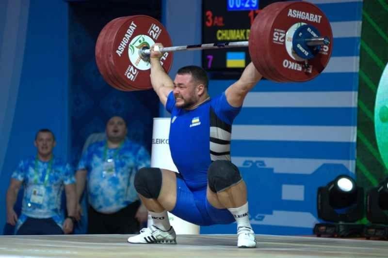 Дмитро Чумак показав загальний результат 391 кілограм
