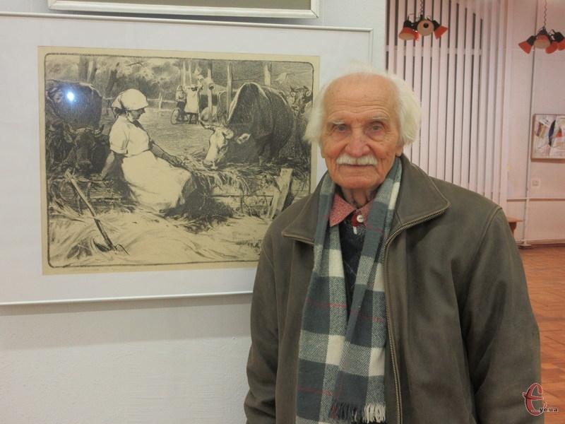 Найбільше картин Михайла Андрійкука присвячених долі України