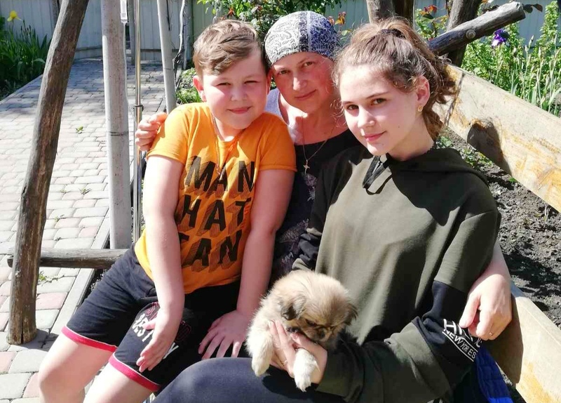 Тетяна Переймає має двох неповнолітніх дітей