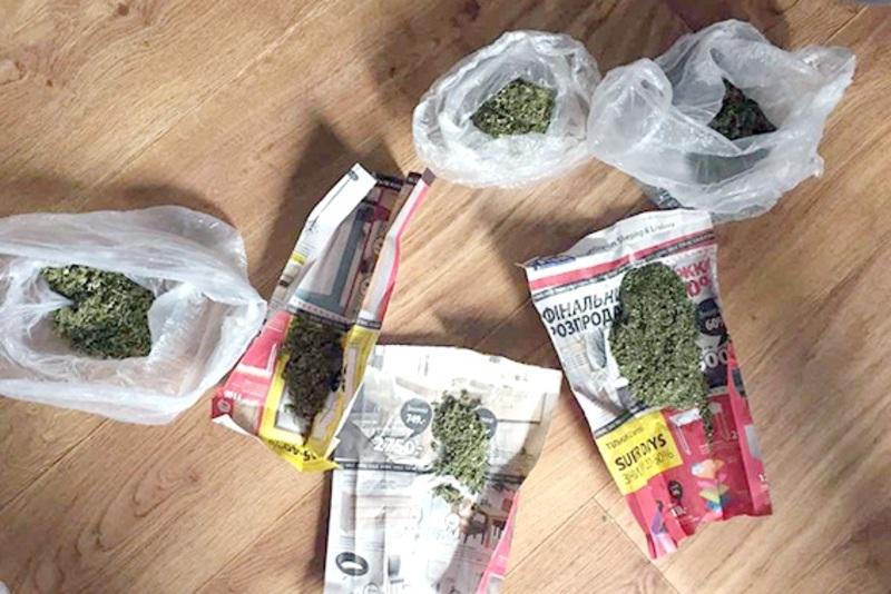 Усі наркотики правоохоронці вилучили і направили на експертизу