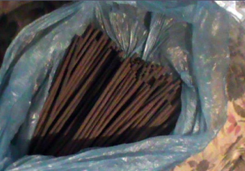 Чоловік каже, що речовину знайшов на смітнику
