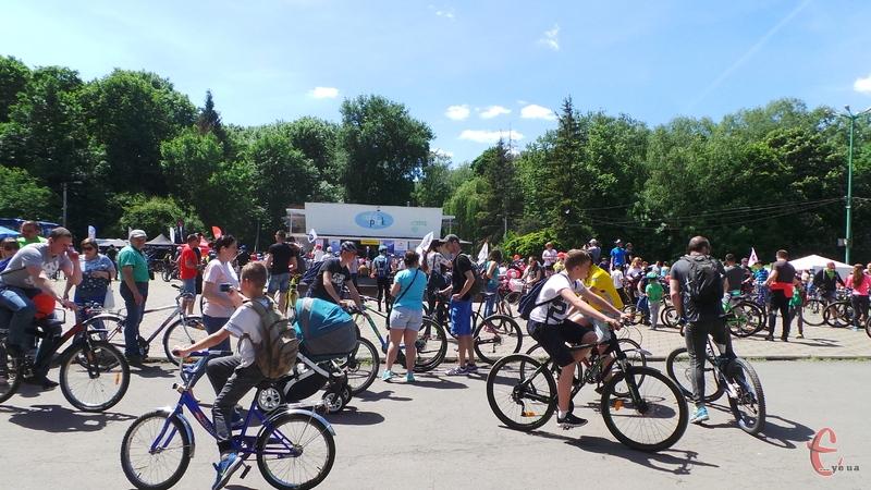 Велосезон відкриють 20 квітня