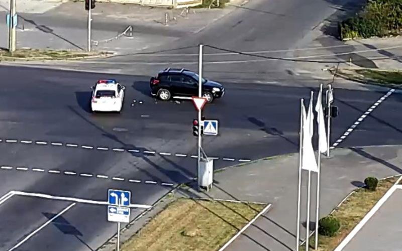 Аварія за участю авто поліції сталася в Хмельницькому 4 вересня