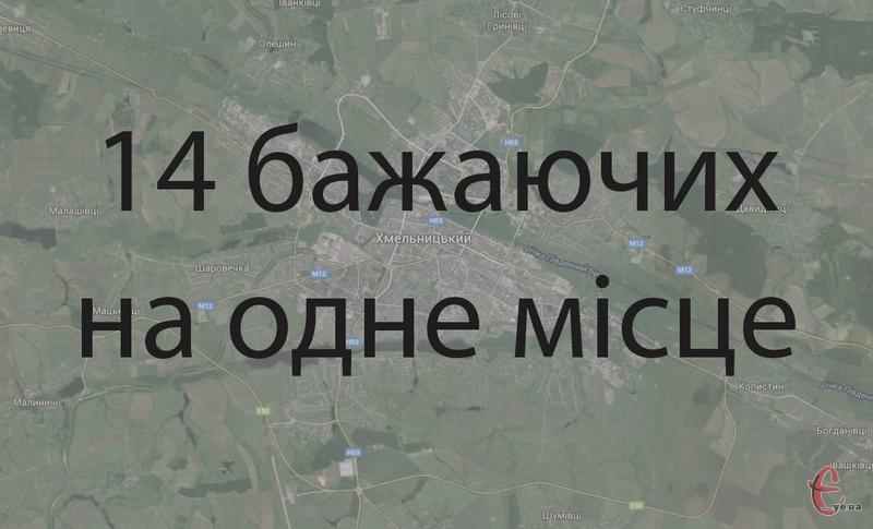 Більшість кандидатів на посаду міського голови Хмельницького - самовисуванці.