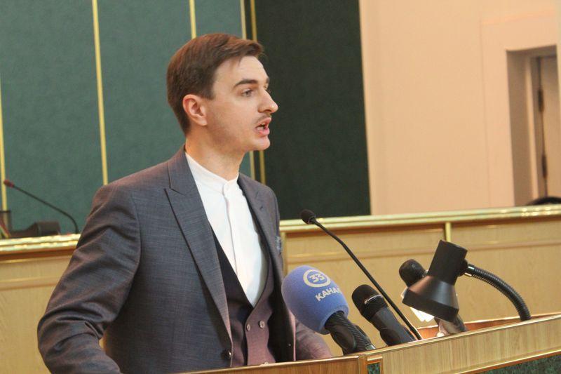 Володимира Гончарука обрали першим заступником голови Хмельницької облради
