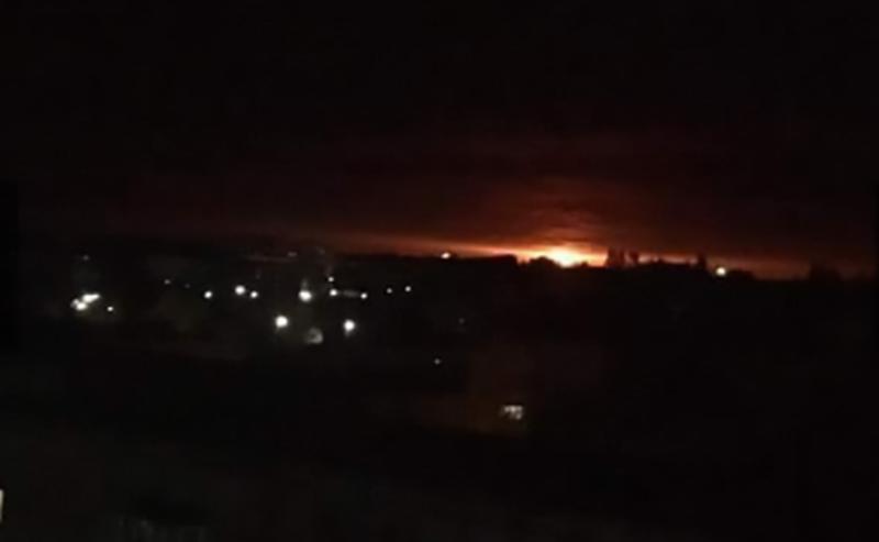 Вибухи на Чернігівщині розпочалися сьогодні вночі