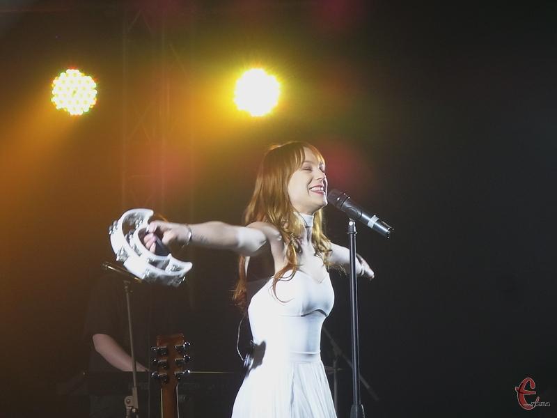 Концерт був сповнений світла і тапла