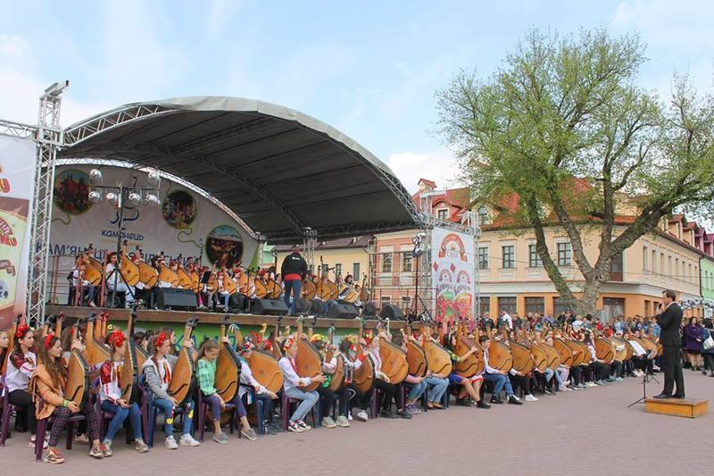 У Кам'янці відбувся фестиваль бандурного мистецтва