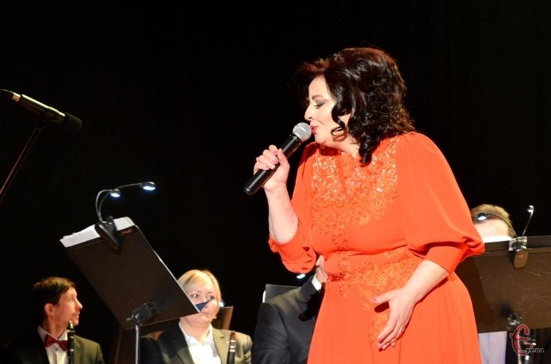 Фатіма Чергіндзія співала дуже щиро і емоційно