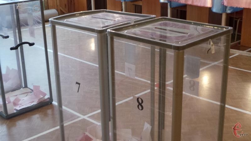 Явка виборців у Хмельницькому була невисокою