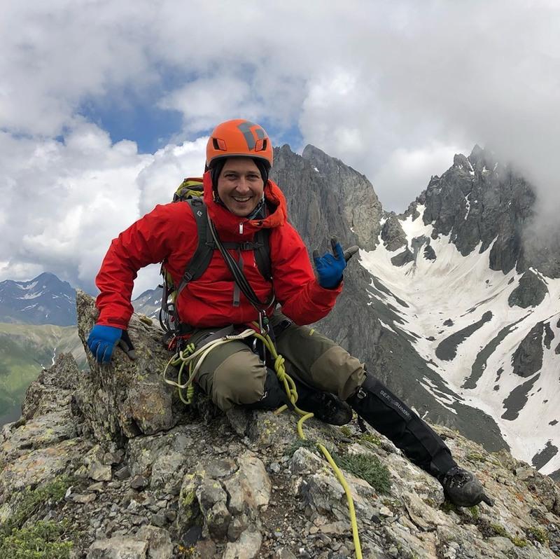 Олександр Педан активно готувався до сходження на вершину