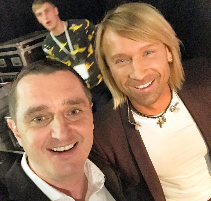 Оцінюватиме виступ Дяді Жори (ліворуч) і Олег Винник