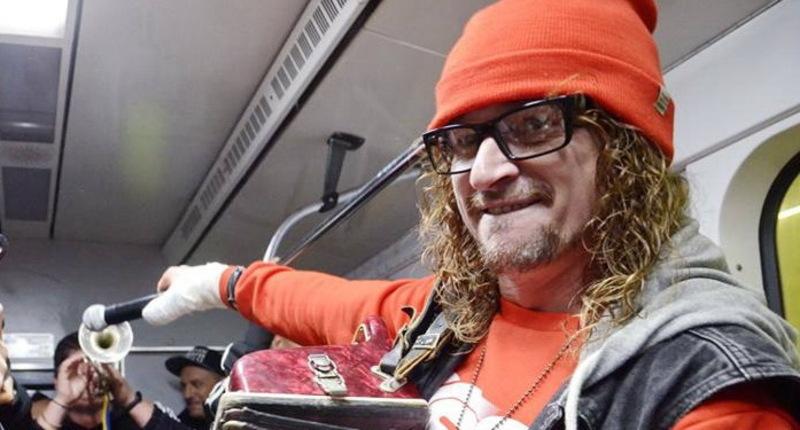 Юрко Юрченко відсвяткував день народження гурту в незвичайний спосіб