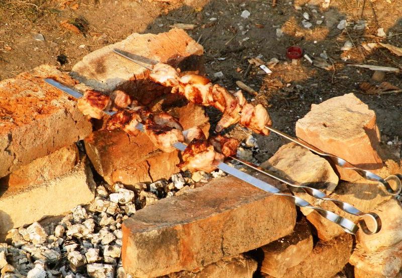 Шашлик — ідеальна страва для веселої компанії під час відпочинку на природі. Фото: з архіву