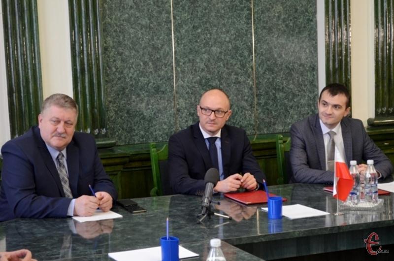 Марек Войтковскі переконаний, що угода посприяє активній співпраці міст у майбутньому
