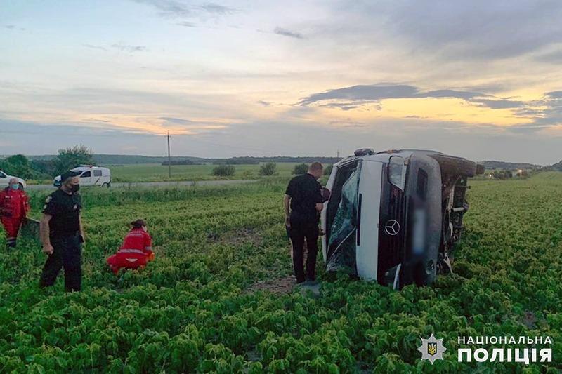 Одна з ДТП сталася неподалік села Радісне Красилівського району