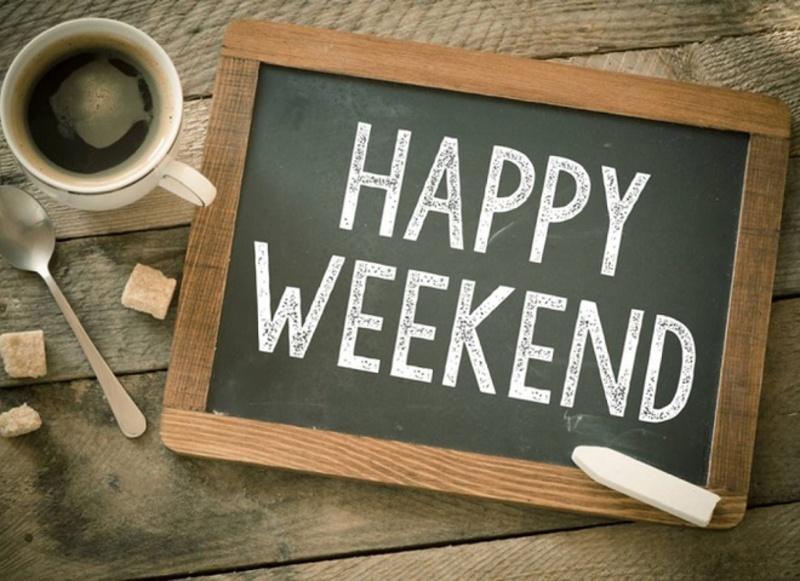 Бажаємо Вам приємних вихідних