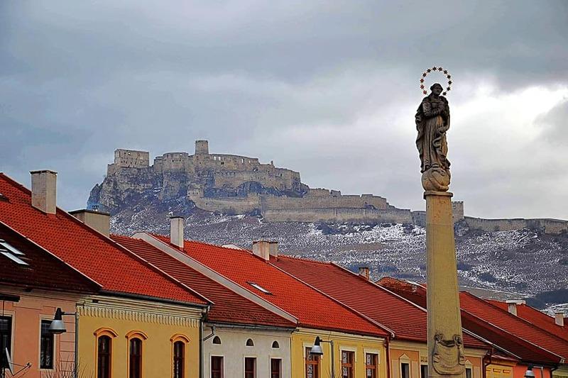 Спішський град - найбільший ренесансний замок у Словаччині