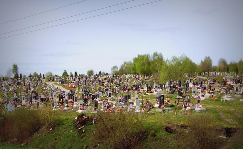 Щоб викопали яму на кладовищі доведеться запалатити щонайменше 508 гривень