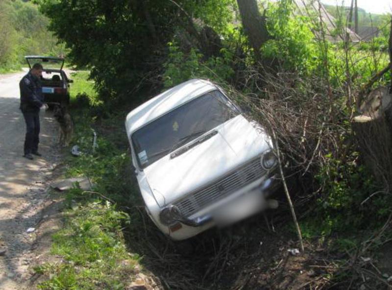 На викраденому авто підозрюваний потрапив у ДТП, після якого пішов додому та ліг спати